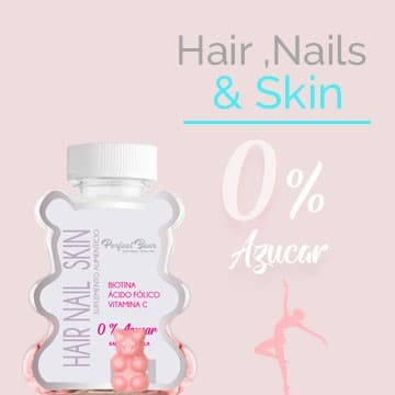 Hair, Nails & Skin Sin Azúcar